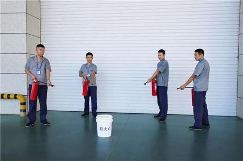 康婷集团积极开展消防演习,西青开发区领导莅临观摩